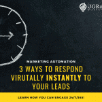 3 ways to respond virtually instantly to your leads