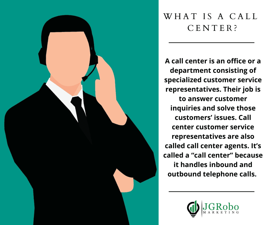 what is a call center, call center definition